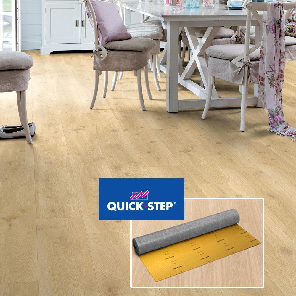 Quick step sous couche silent walk for Comparatif sous couche parquet